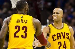 richard jefferson on playing with lebron: he's the no. 1 camaraderie guy that i've ever been around on any level