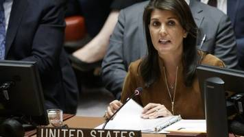 'Confused' UN envoy Nikki Haley hits back at White House
