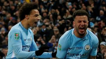 Man City want to be one of Premier League's greatest - Walker