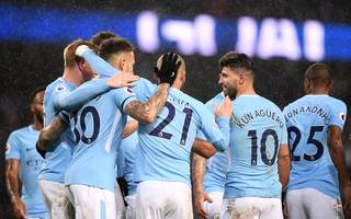 manchester city and dominate premier league team of the year