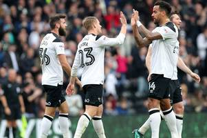 derby county's final championship position predicted by data experts - do they make the play-offs?