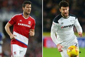 five players to appear for both derby county and middlesbrough