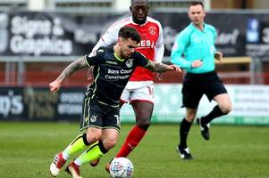 the steps stoke city loanee dom telford is taking to increase his chances at bristol rovers