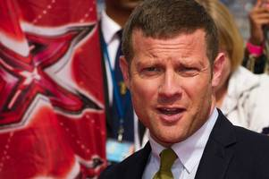 x factor's dermot o'leary pulls out of hamilton park racecourse's ladies' day