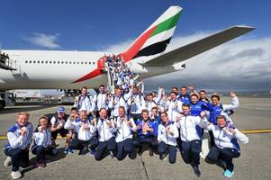 team scotland welcomed home from commonwealth games with record medal haul