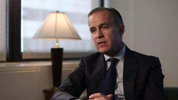 Bank of England governor says people should prepare for a few interest rate rises
