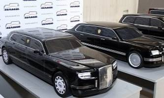 putin's presidential limousine crash tests and it's a hit