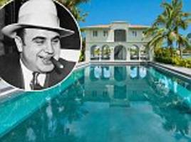al capone's mansion where he planned valentine's day massacre goes on sale for $15 million