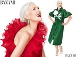 maye musk poses for harper's bazaar ahead of her 70th birthday