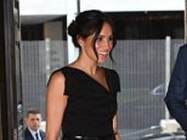 meghan joins harry for commonwealth reception in london