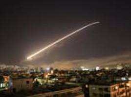 syria 'fired two missiles during us-led chemical weapons strike'