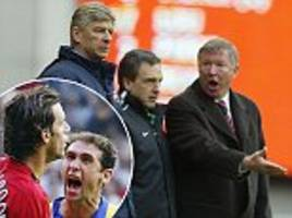 Arsenal and Manchester United icons recount fierce rivalry in revealing new documentary