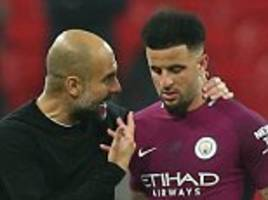 kyle walker insists manchester city manager pep guardiola is a 'friend as well as a boss'