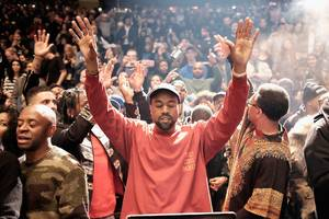 kanye west just announced 2 new albums on twitter — and one of them is a collaboration with kid cudi