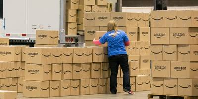 amazon is 'more prepared than ever' to deliver packages without the post office (amzn)