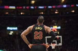 lebron scores 46, cavs even series with pacers