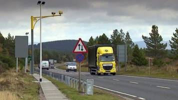 cameras 'reducing casualties' on inverness to dunblane route