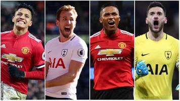 select your combined man utd v spurs xi for fa cup semi-final