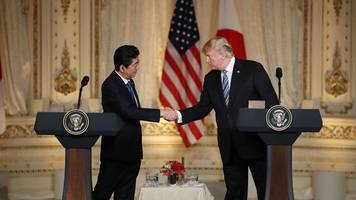 trump: japan not exempted from steel, aluminum tariffs at this time