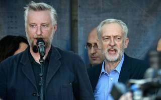 "activist billy bragg heads to the bank of england to ""look them in the eye"""