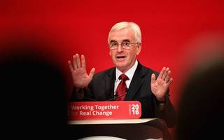 McDonnell says finance services will have a seat at the table under Labour