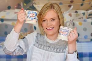 america goes 'potty' over this range of royal mugs - designed and made in stoke-on-trent!