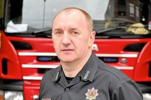 east kilbride fire chief warns firebugs they are putting lives at risk after spate of blazes