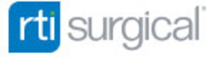 RTI Surgical Schedules First Quarter 2018 Earnings Call for May 3, 2018