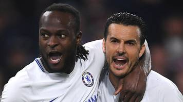 nigeria's moses earns win for chelsea