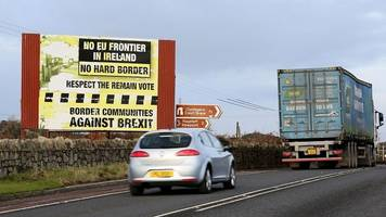 Brexit: EU reportedly rejects UK's Irish border solutions