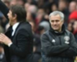 conte: you can't compare my chelsea record with mourinho's