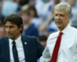 I wanted to be like Arsene Wenger and create a dynasty, says Antonio Conte