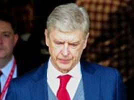 Arsene Wenger to step down as Arsenal manager at end of season