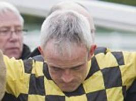 ruby walsh fails in bid to be fit for the punchestown festival