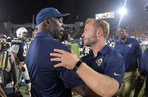 la rams and chargers regular season schedules released