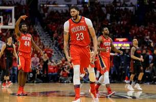 Mirotic, Davis lead Pelicans to 3-0 series lead over Blazers
