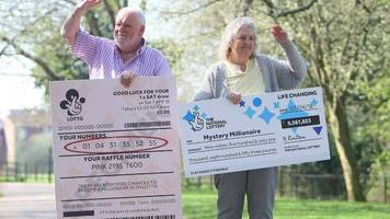 hunt on for £9.5m lottery winner in lincolnshire
