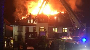 Chingford fire: Woman dies in Connington Court blaze