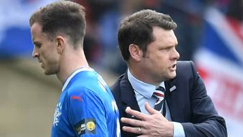 andy halliday has 'support' from rangers manager graeme murty