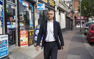 london mayor sadiq khan named in time's 100 most influential people