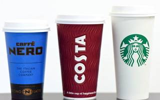 revealed: the coffee chain with the best brand perception