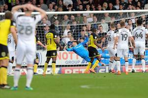 how have derby county's players responded to burton defeat? here's what gary rowett had to say