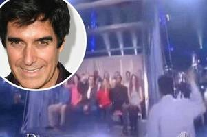 magician david copperfield is being sued by a kent man who is now brain damaged after an on-stage fall