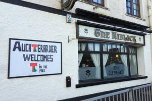 bouncers no longer needed at auchterarder pub, according to perth and kinross licensing board