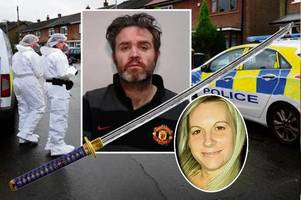 Crazed Man United fan butchers cheating wife with samurai sword after telling pals 'I'm ready for jail'