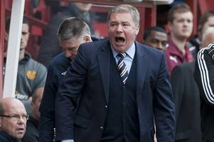 rangers legend ally mccoist lifts lid on stormy dressing room scenes but says nobody ever fought with the boss