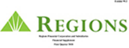 Regions reports first quarter 2018 earnings from continuing operations of $398 million, up 44 percent over the prior year, and earnings per share of $0.35, up 52 percent