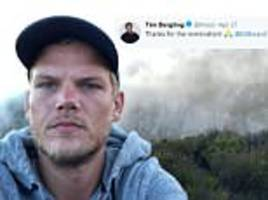 haunting final tweet from troubled dj avicii