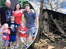 single mother held back as she watched her missouri home burn