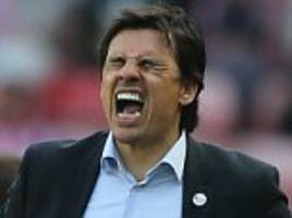 chris coleman: sunderland players did not know they were relegated